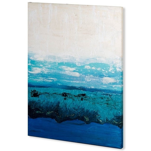 Mercana Sapphire Cove I (41 x 54) Made to Order Canvas Art