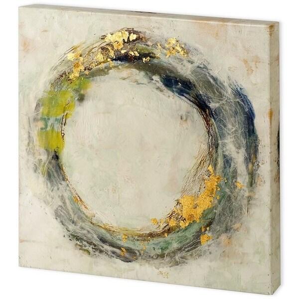 Mercana Embellished Fluid Orbit II (44 x 44) Made to Order Canvas Art