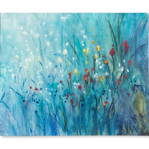 Mercana Blue Vision I (MC) (54 X 45) Made to Order Canvas Art