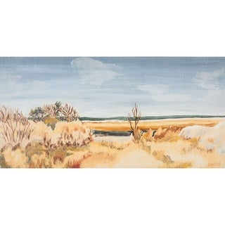 Mercana The Sound Shoreline II (44 X 22) Made to Order Canvas Art