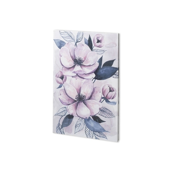 Mercana Lavender Burst I (23 x 38) Made to Order Canvas Art