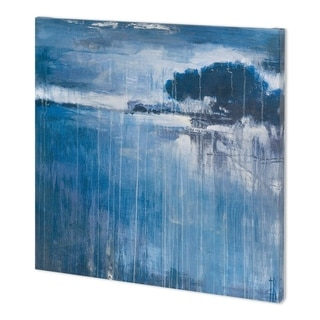 Mercana Falling Blue II (44 x 44) Made to Order Canvas Art