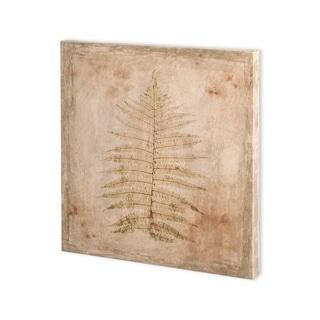 Mercana Stone Leaf I (30 x 30) Made to Order Canvas Art