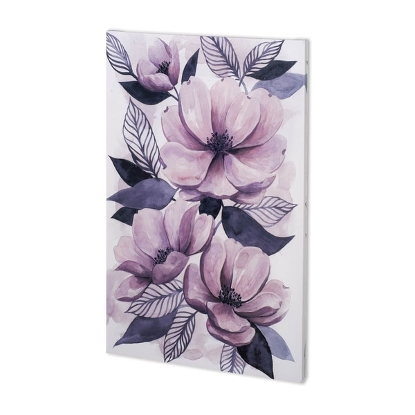 Mercana Lavender Burst II (32 x 54) Made to Order Canvas Art