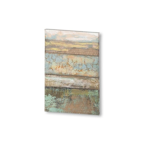 Mercana Segmented Textures I (24 X 36) Made to Order Canvas Art