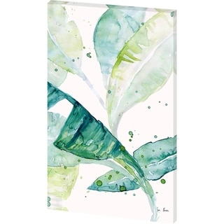 Mercana Water Color Palms I (34 X 53) Made to Order Canvas Art