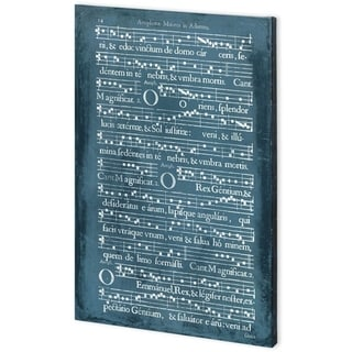 Mercana Graphic Songbook IV (44 x 66) Made to Order Canvas Art