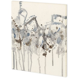 Mercana Neutral Splash II (43 x 54) Made to Order Canvas Art
