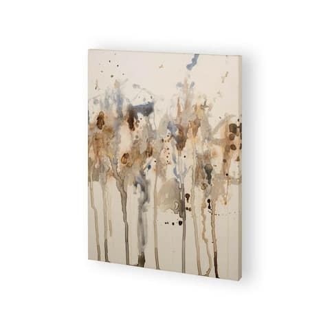 Mercana Neutral Splash I (30 x 38) Made to Order Canvas Art