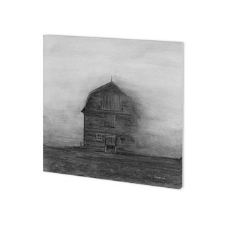 Mercana Barn House in Wind I (30 x 30) Made to Order Canvas Art