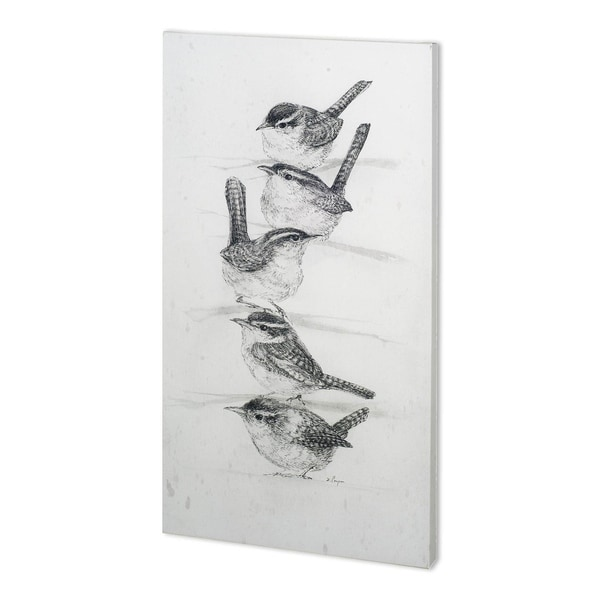 Mercana Tutti II (34 x 64) Made to Order Canvas Art