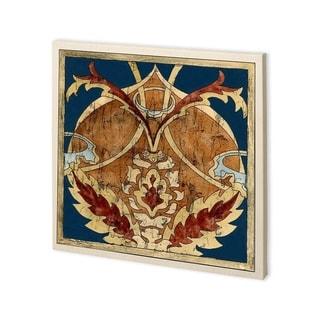 Mercana Vintage Woodblock IV (30 x 30) Made to Order Canvas Art