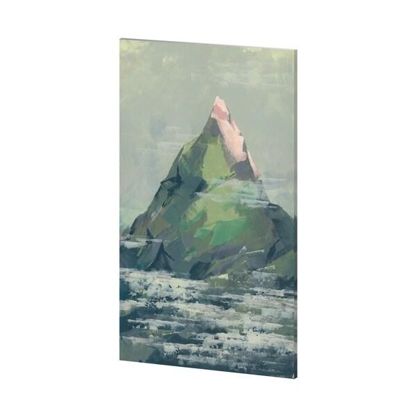 Mercana Spring Mountain (38 x 62) Made to Order Canvas Art
