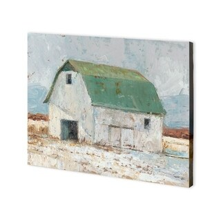 Mercana Whitewashed Barn II (40 x 30) Made to Order Canvas Art