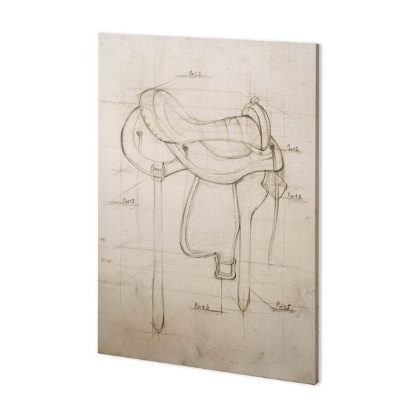 Mercana Horse Seat II (38 x 52) Made to Order Canvas Art