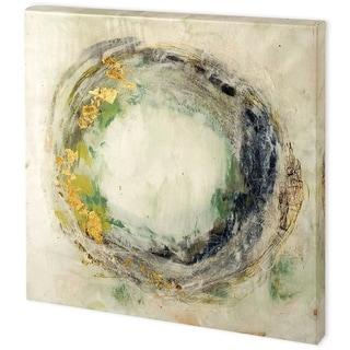 Mercana Embellished Fluid Orbit I (44 x 44) Made to Order Canvas Art