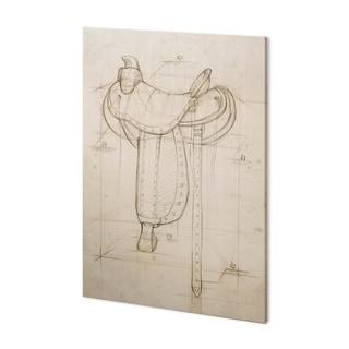 Mercana Horse Seat I (38 x 52) Made to Order Canvas Art