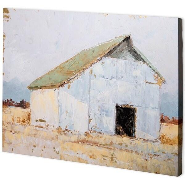 Mercana Whitewashed Barn I (55 x 41) Made to Order Canvas Art