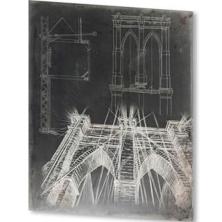 Mercana Iconic Blueprint IV(40 X 51) Made to Order Canvas Art