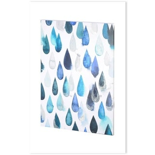 Mercana Water Drops II (30 x 40) Made to Order Canvas Art