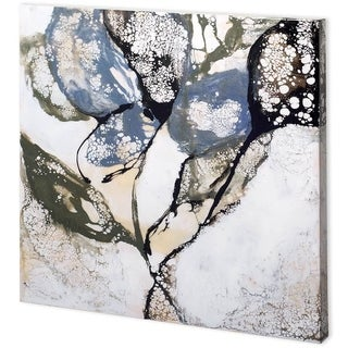 Mercana Crackled Stems II (41 x 41) Made to Order Canvas Art