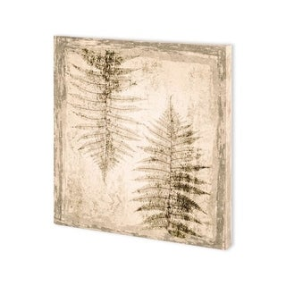 Link to Mercana Stone Leaf II (30 x 30) Made to Order Canvas Art Similar Items in Specialty Material Art