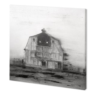 Mercana Barn House in Wind II (41 x 41) Made to Order Canvas Art