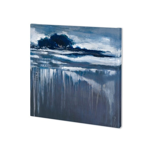 Mercana Falling Blue I (30 x 30) Made to Order Canvas Art