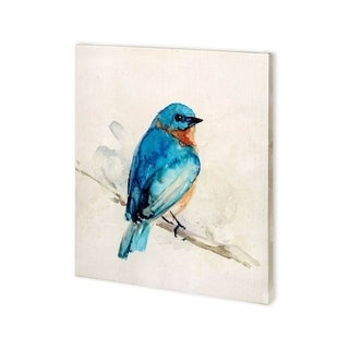 Mercana Eastern Blue I (27 x 30) Made to Order Canvas Art
