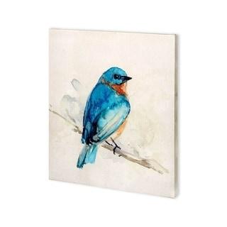 Mercana Eastern Blue I (27 x 30) Made to Order Canvas Art