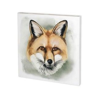Mercana Greenwood Animals I (30 x 30) Made to Order Canvas Art