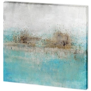 Mercana Granulated Aquamarine (41 x 41) Made to Order Canvas Art