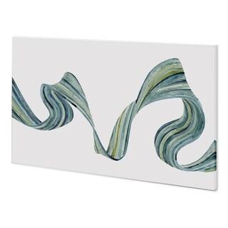 Mercana Ribbon Stream II (62 x 38) Made to Order Canvas Art