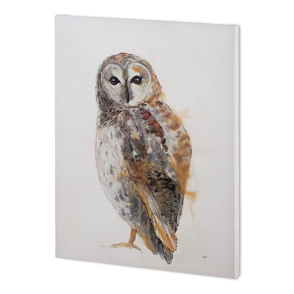 Mercana Owl I (44 x 58 ) Made to Order Canvas Art