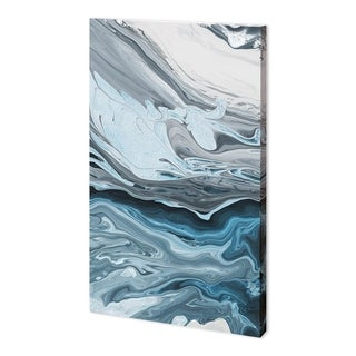 Mercana Winter River I (33 x 54) Made to Order Canvas Art