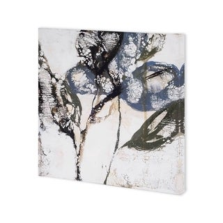 Mercana Crackled Stems I (30 x 30) Made to Order Canvas Art