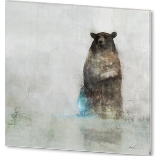 Mercana Friendly Bear (44 X 44) Made to Order Canvas Art