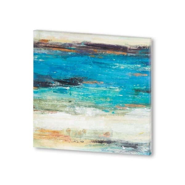 Mercana Sea Breeze Abstract I (30 X 30) Made to Order Canvas Art