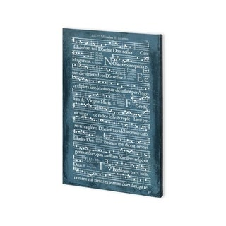 Mercana Graphic Songbook III (30 x 45) Made to Order Canvas Art