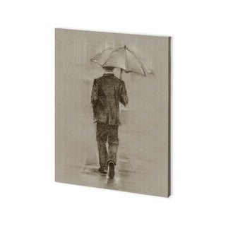 Mercana Rainy Day Rendevous II (30 x 40) Made to Order Canvas Art