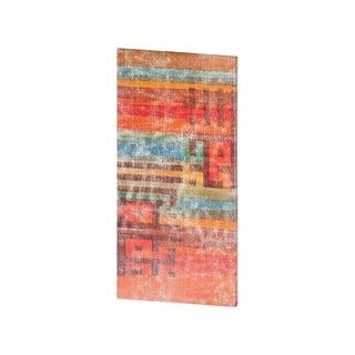Mercana The Language of Color III (38 X 19) Made to Order Canvas Art