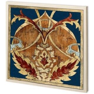 Mercana Vintage Woodblock IV (44 x 44) Made to Order Canvas Art
