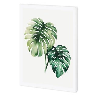 Mercana Tropical Plant II (44 x 55) Made to Order Canvas Art
