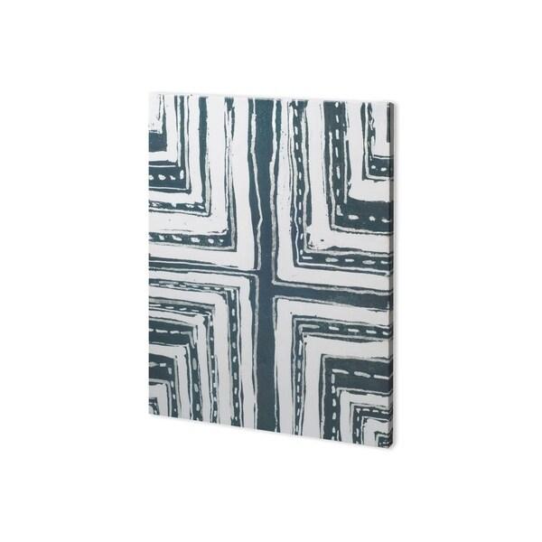 Mercana Indigo Pattern I (28 x 38) Made to Order Canvas Art