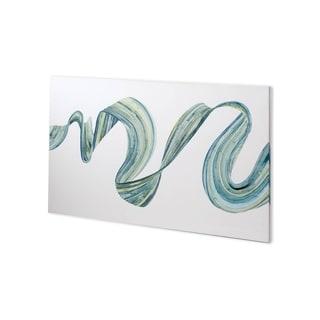 Mercana Ribbon Stream I (44 x 27) Made to Order Canvas Art