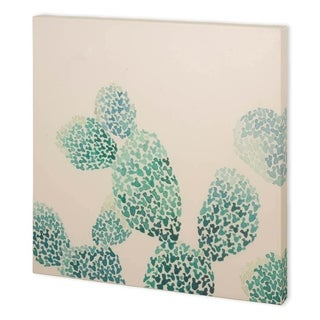 Mercana Cactus Maze II (41 x 41) Made to Order Canvas Art