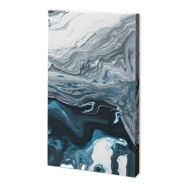 Mercana Winter River II (33 x 54) Made to Order Canvas Art
