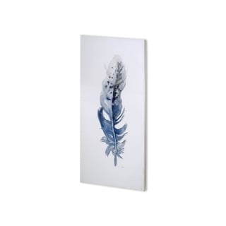 Mercana Feather I  (24 x 48 ) Made to Order Canvas Art
