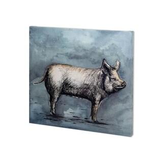 Mercana Farm Livestock III (33 x 30) Made to Order Canvas Art