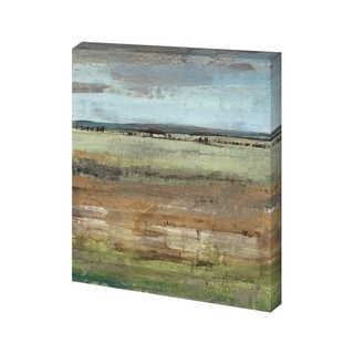 Mercana Field Layers IV (30 x 38) Made to Order Canvas Art